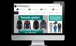 Magento voorbeeld implementatie Online jas kopen