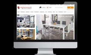 Magento webshop Interieurvannu