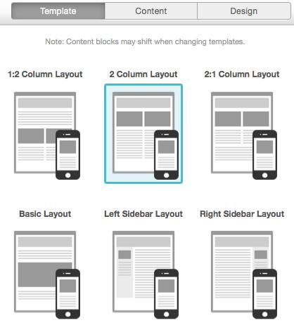 Mailchimp Template editor